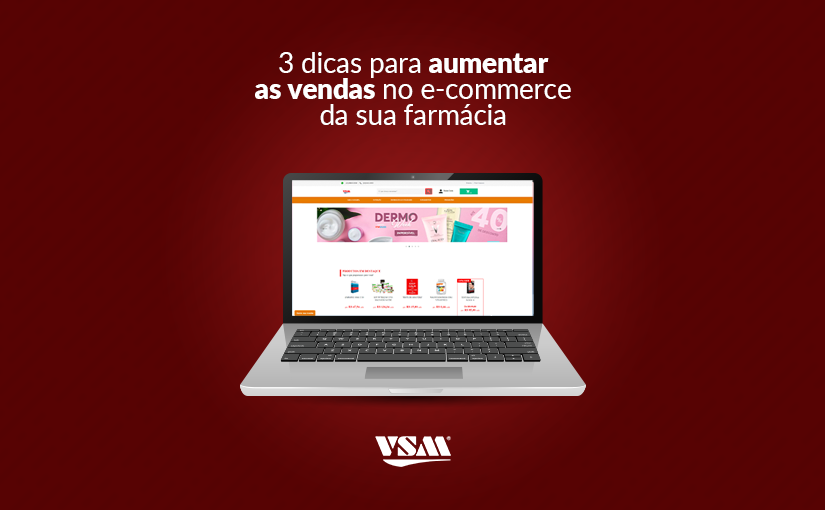 loja virtual na farmácia